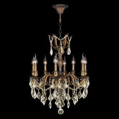 Versailles 8-Light Crystal Chandelier