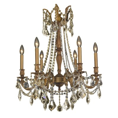 Windsor 6-Light Crystal Chandelier