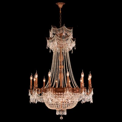 Winchester 18-Light Crystal Chandelier