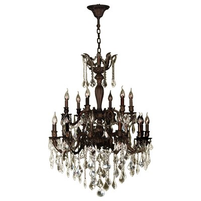 Dodson 18-Light Crystal Chandelier