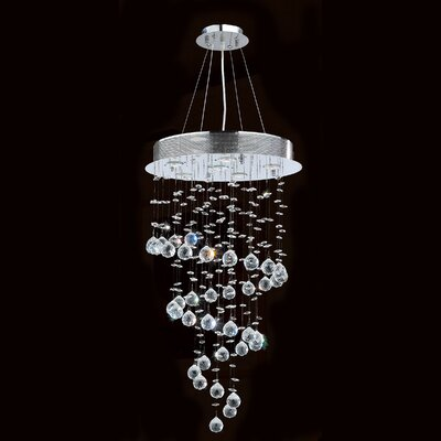 Leiker 6-Light Waterfall Chandelier