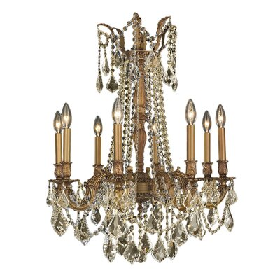 Radtke Cottage 8-Light Crystal Chandelier