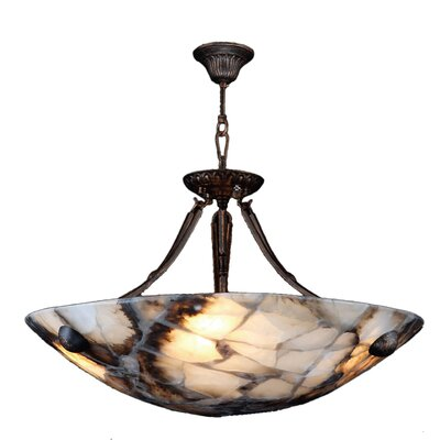 Harwich Contemporary 4-Light Bowl Pendant