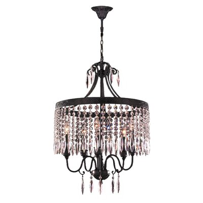 Arreola 5-Light Crystal Chandelier