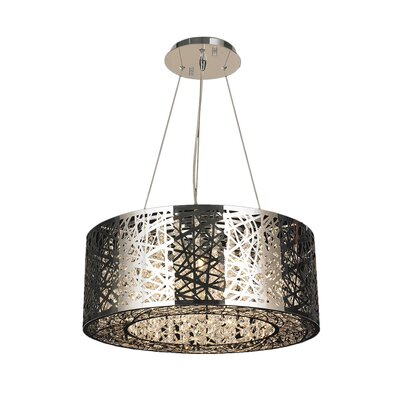 Leite 12-Light Drum Pendant