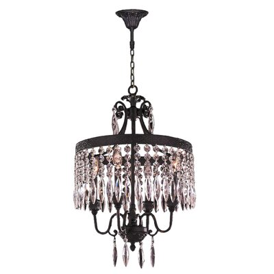 Arreola 4-Light Crystal Chandelier