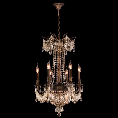 Reimer 9-Light Crystal Chandelier