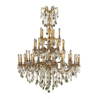 Radtke 45-Light Crystal Chandelier