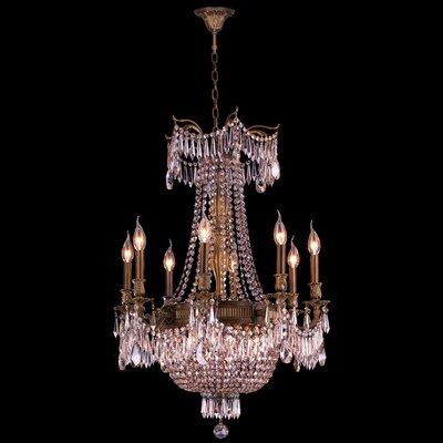 Reimer Cottage 12-Light Crystal Chandelier Color: Antique Bronze