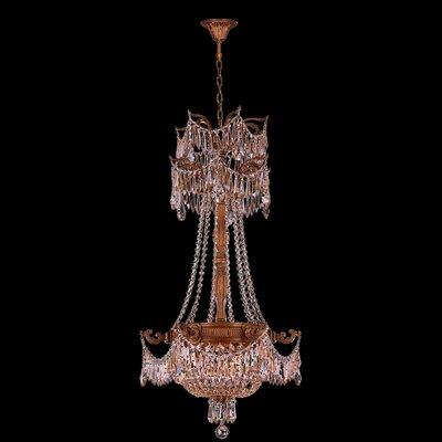 Reimer 3-Light Crystal Chandelier