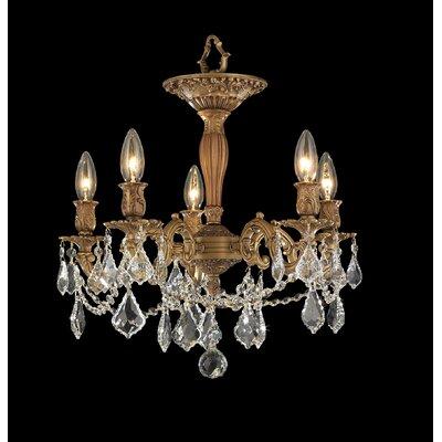 Windsor 5-Light Crystal Chandelier