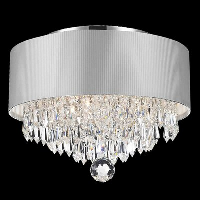 Roni 3-Light Semi Flush Mount