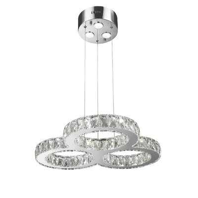 Leiter 18 LED Integrated Bulb Pendant