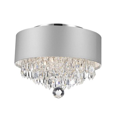 Gatsby 3-Light Semi Flush Mount