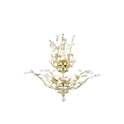 Safiya 8-Light Crystal Chandelier