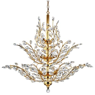 Safiya 18-Light Crystal Chandelier