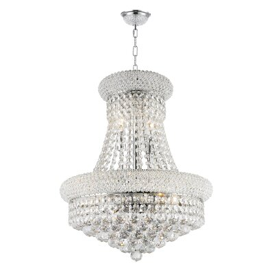 Empire 8-Light Empire Chandelier Finish: Chrome