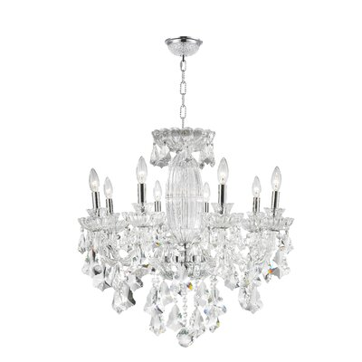 Pulaski 8-Light Crystal Chandelier