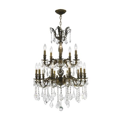 Dodson 15-Light Crystal Chandelier