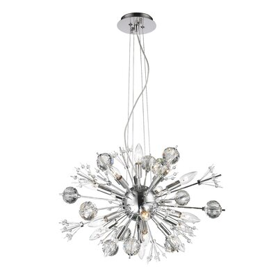 Starburst 20-Light Sputnik Chandelier