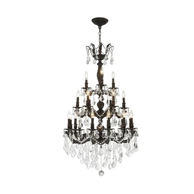 Dodson 21-Light Crystal Chandelier