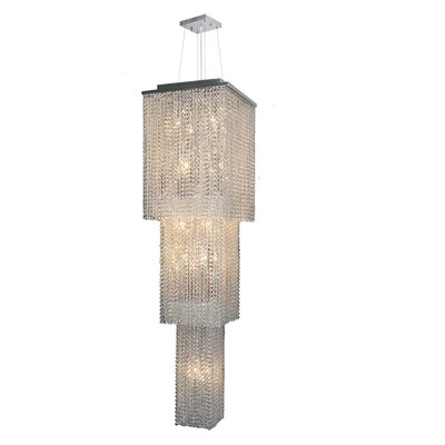 Diep 20-Light Crystal Chandelier