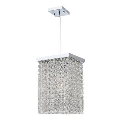 Diep 1-Light Crystal Pendant