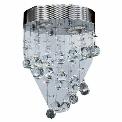 Icicle 2-Light Flush Mount