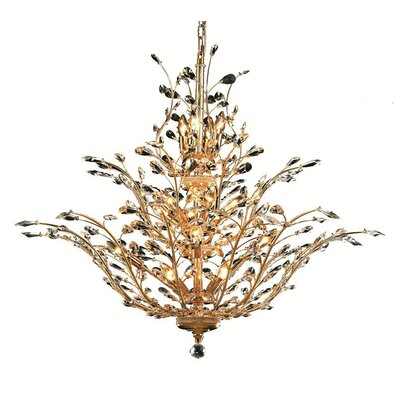 Aspen 18-Light Crystal Chandelier