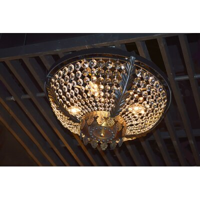 Arreola 4-Light Semi Flush Mount