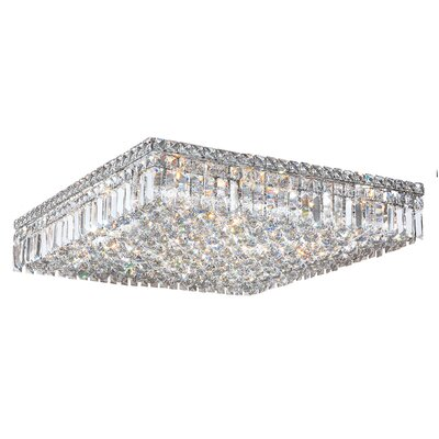 Anjali Glam 13-Light Flush Mount