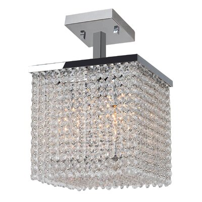 Prism 4-Light Semi Flush Mount