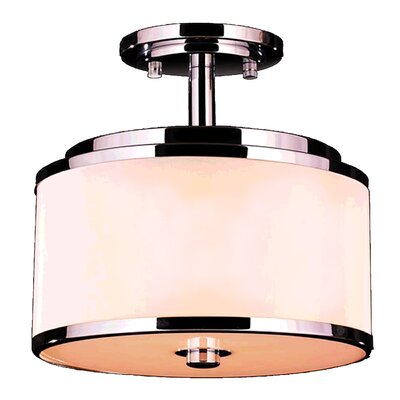 Stankiewicz 5/6-Light Semi Flush Mount Size: 12 Round