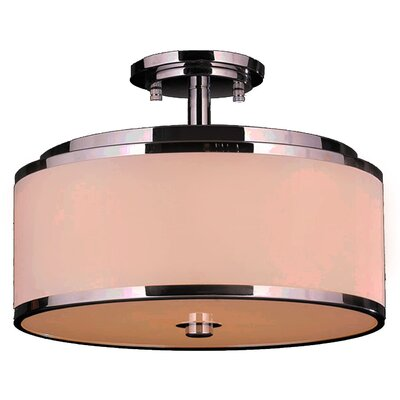 Stankiewicz 5/6-Light Semi Flush Mount Size: 16 Round