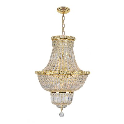 Carson 12-Light Chain Empire Chandelier
