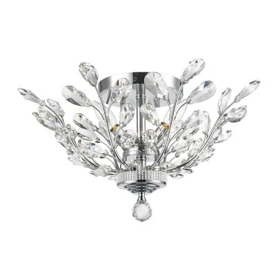 Aspen 4-Light Semi Flush Mount