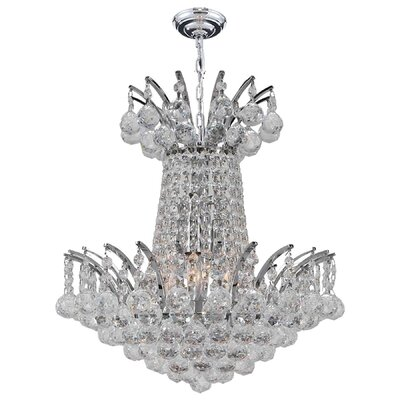 Empire 4-Light Empire Chandelier Finish: Chrome