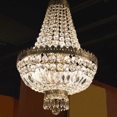 Brooks Bay Traditional 6-Light Empire Chandelier