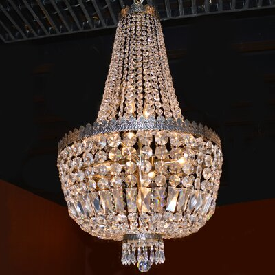 Brooks Bay 8-Light Chain Empire Chandelier
