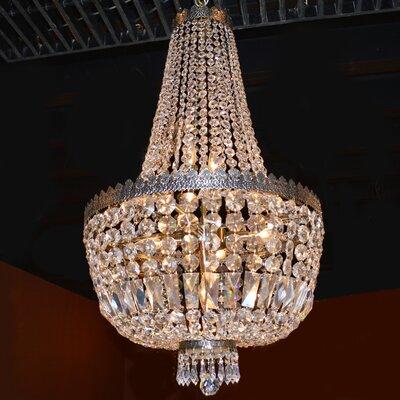 Brooks Bay 8-Light Chain Empire Chandelier