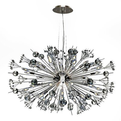 Starburst 24-Light Sputnik Chandelier