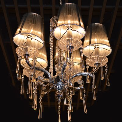 Pelletier 5-Light Shaded Chandelier