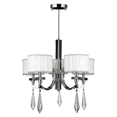 Zinaida 5-Light Drum Chandelier