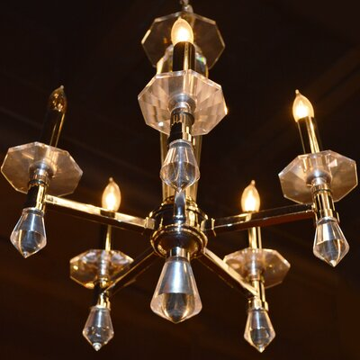 Roni Contemporary 5-Light Crystal Chandelier