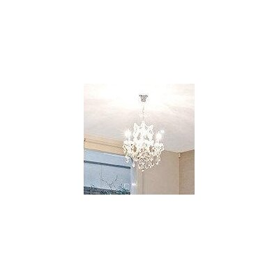 Kiazolu 7-Light Crystal Chandelier Color: Chrome