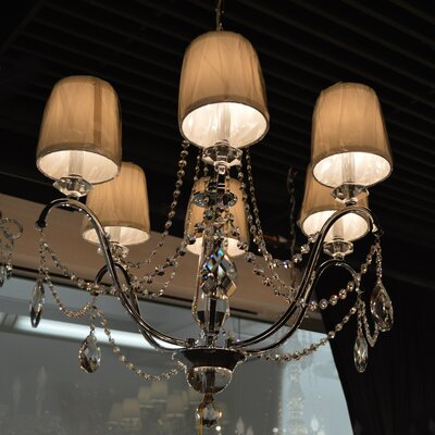 Samara 6-Light Crystal Chandelier