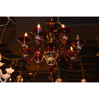 Melvina 8-Light Candle-Style Chandelier
