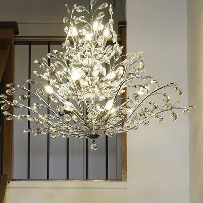 Aspen 18-Light Crystal Chandelier