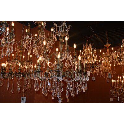 Dodson 12-Light 40W Crystal Chandelier