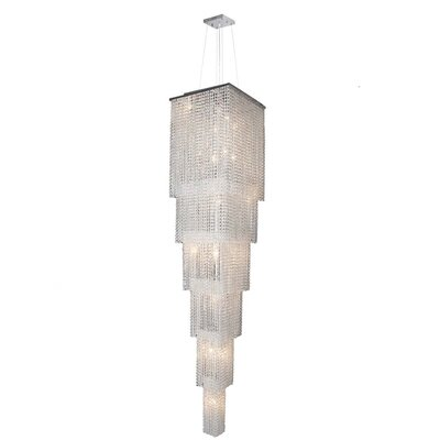 Prism 21-Light Crystal Chandelier